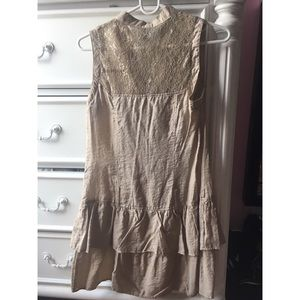 Light brown dress